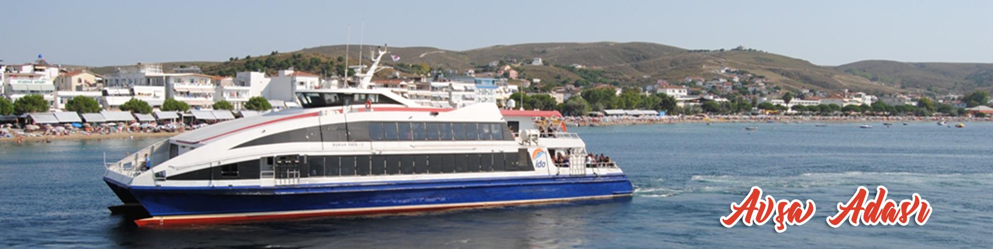 avşa adası ulaşım