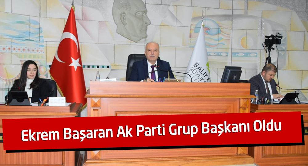 AK Parti Büyükşehir Grup Başkanı Oldu