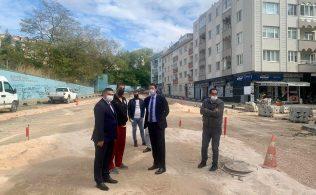 baskan av tolga tosun fatih caddesindeki calismalari inceledi bandirma.com.tr