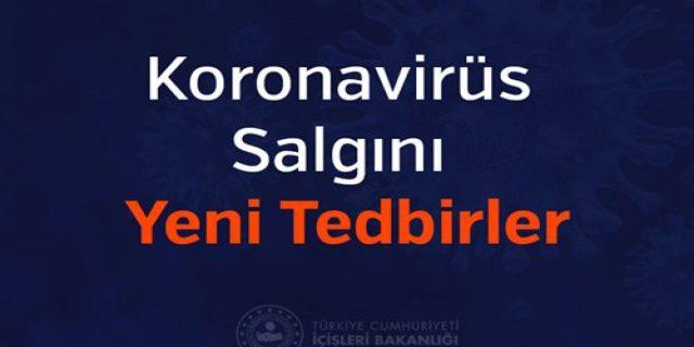 koronavirus salgininda yeni tedbirler bandirma.com.tr