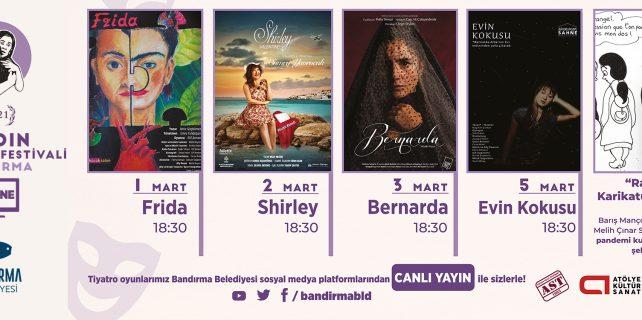 belediyeden tiyatro festivali bandirma.com.tr