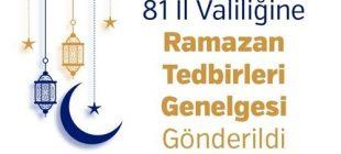 81 il valiligine ramazan tedbirleri genelgesi gonderildi bandirma.com.tr