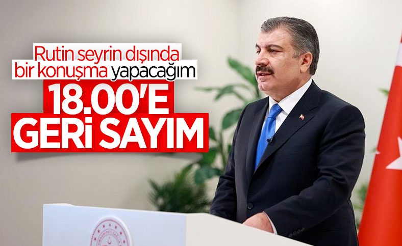 """""""RUTİN SEYİR DIŞINDA BİR KONUŞMA"""" YAPACAK"""